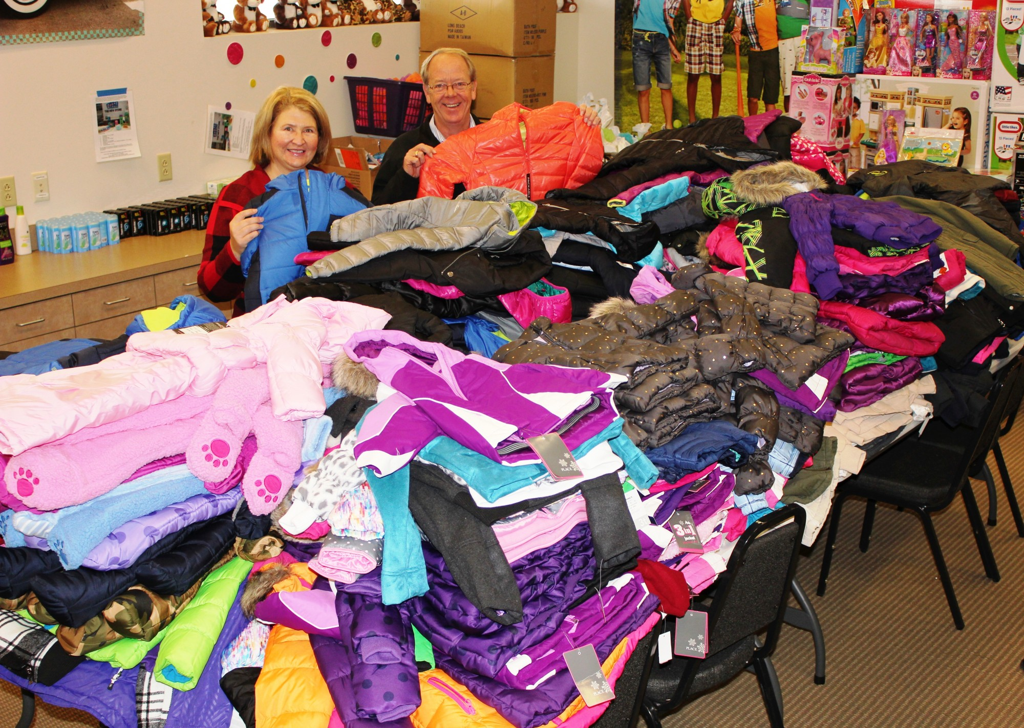 Foundation helps with Coats for Kids