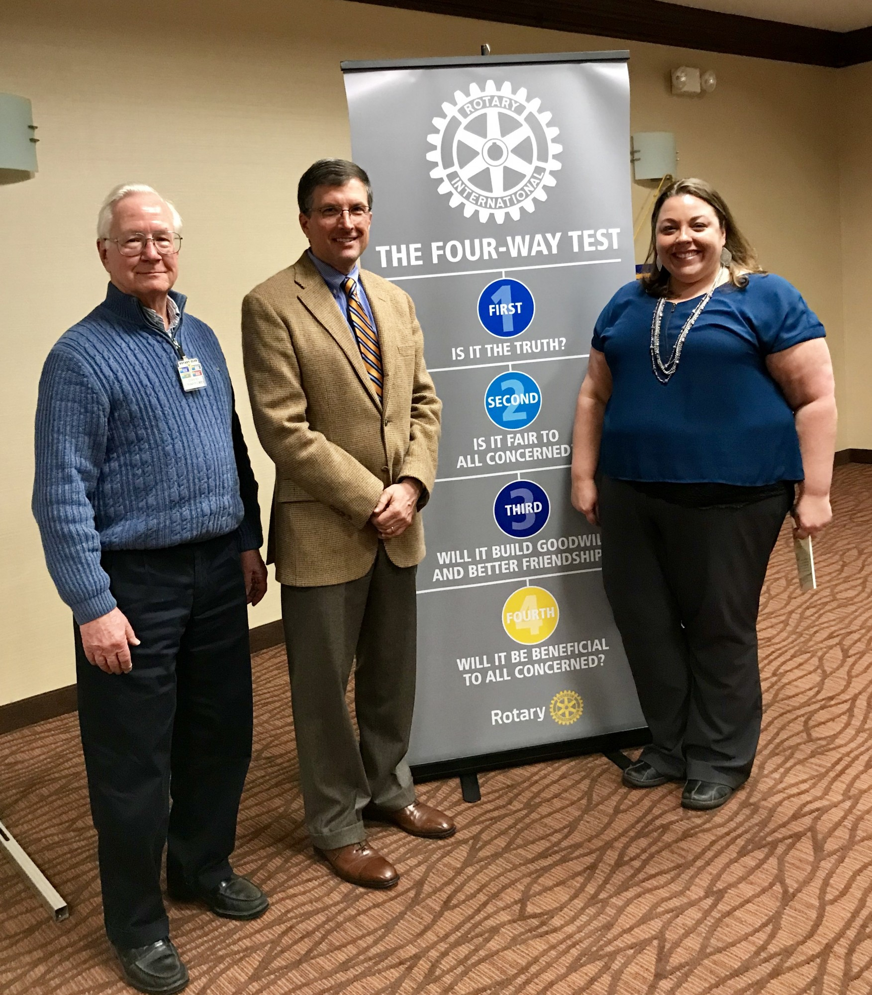 Mansfield Rotary Club Invests in its Future